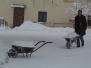 Kláštor v zime